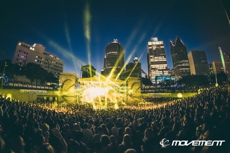 Photo of Movement Electronic Music Festival reveals 2017 stage lineups and programming