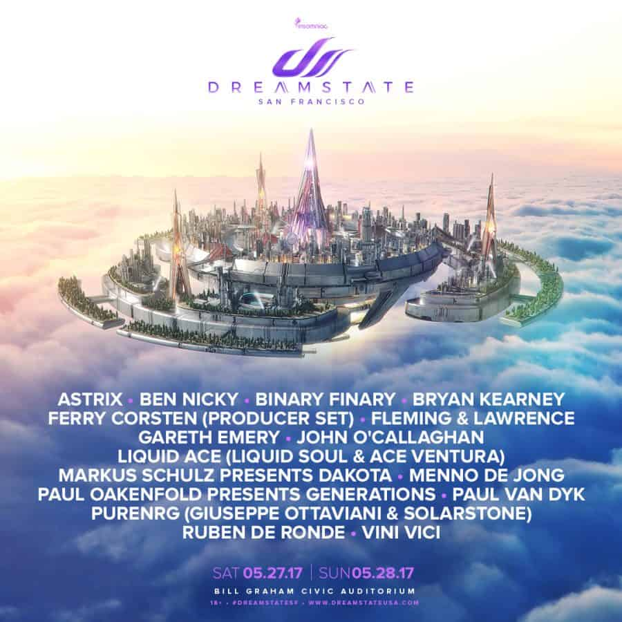 Photo of Dreamstate SF is Tomorrow!