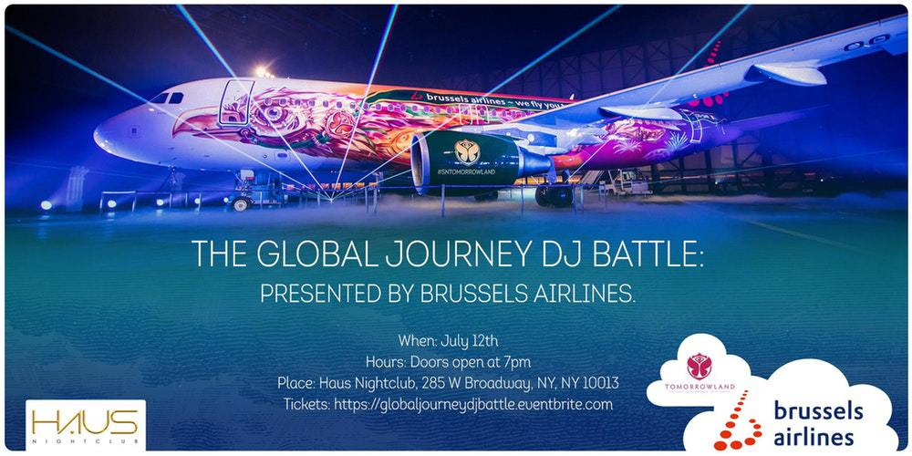 Photo of Tomorrowland DJ Competition presented by Brussels Airlines