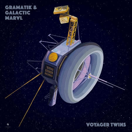 """Photo of Gramatik and Galactic Marvl """"Voyager Twins"""" [Lowtemp Records]"""