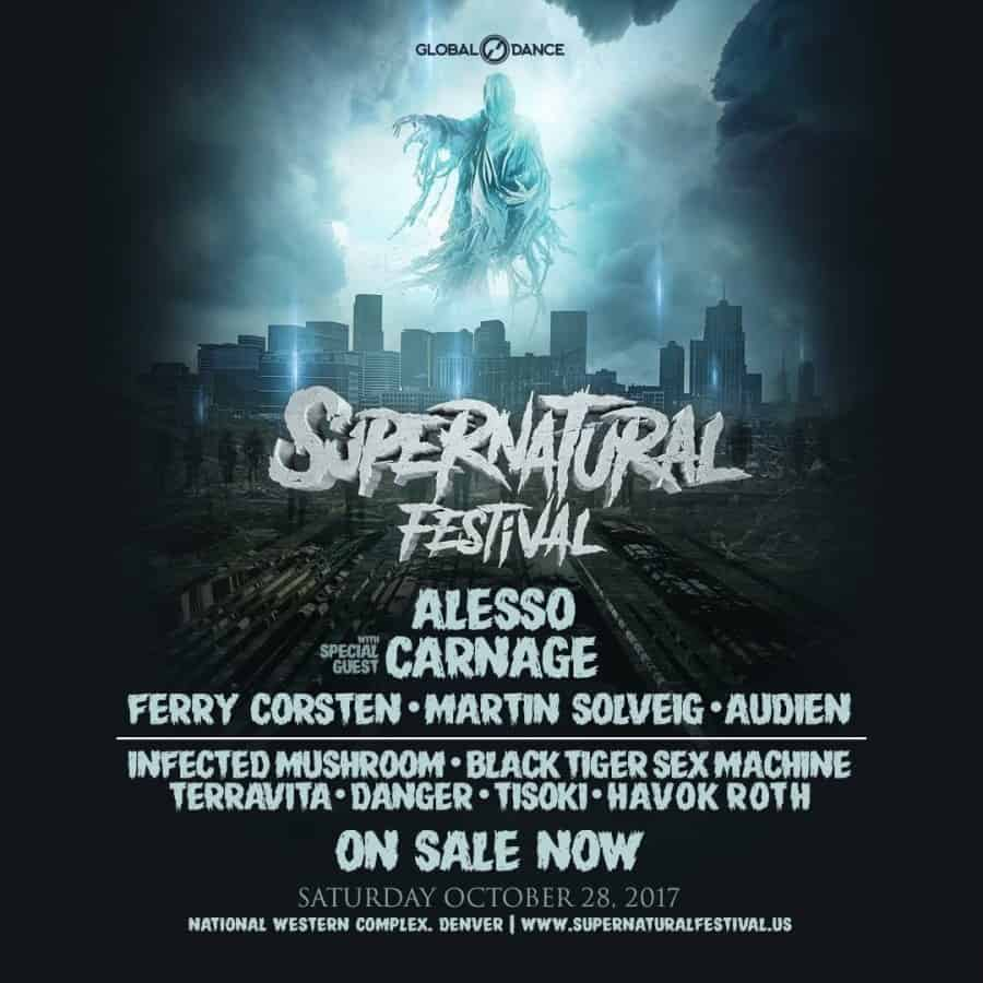Photo of Global Dance Announces Stacked Lineup For Inaugural Supernatural Festival