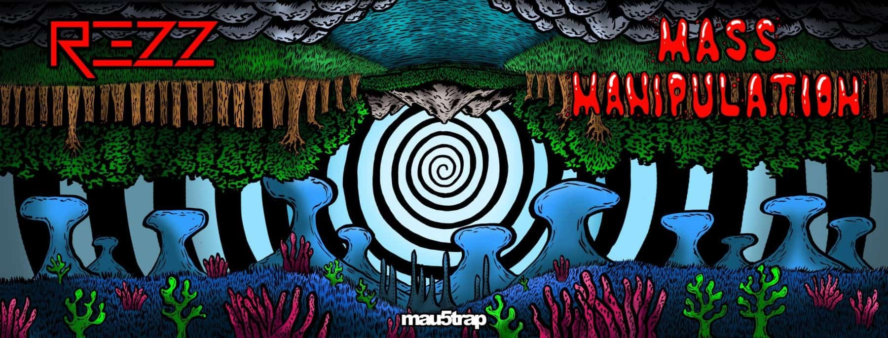"""Photo of REZZ """"Mass Manipulates"""" us with a comic book announcement"""