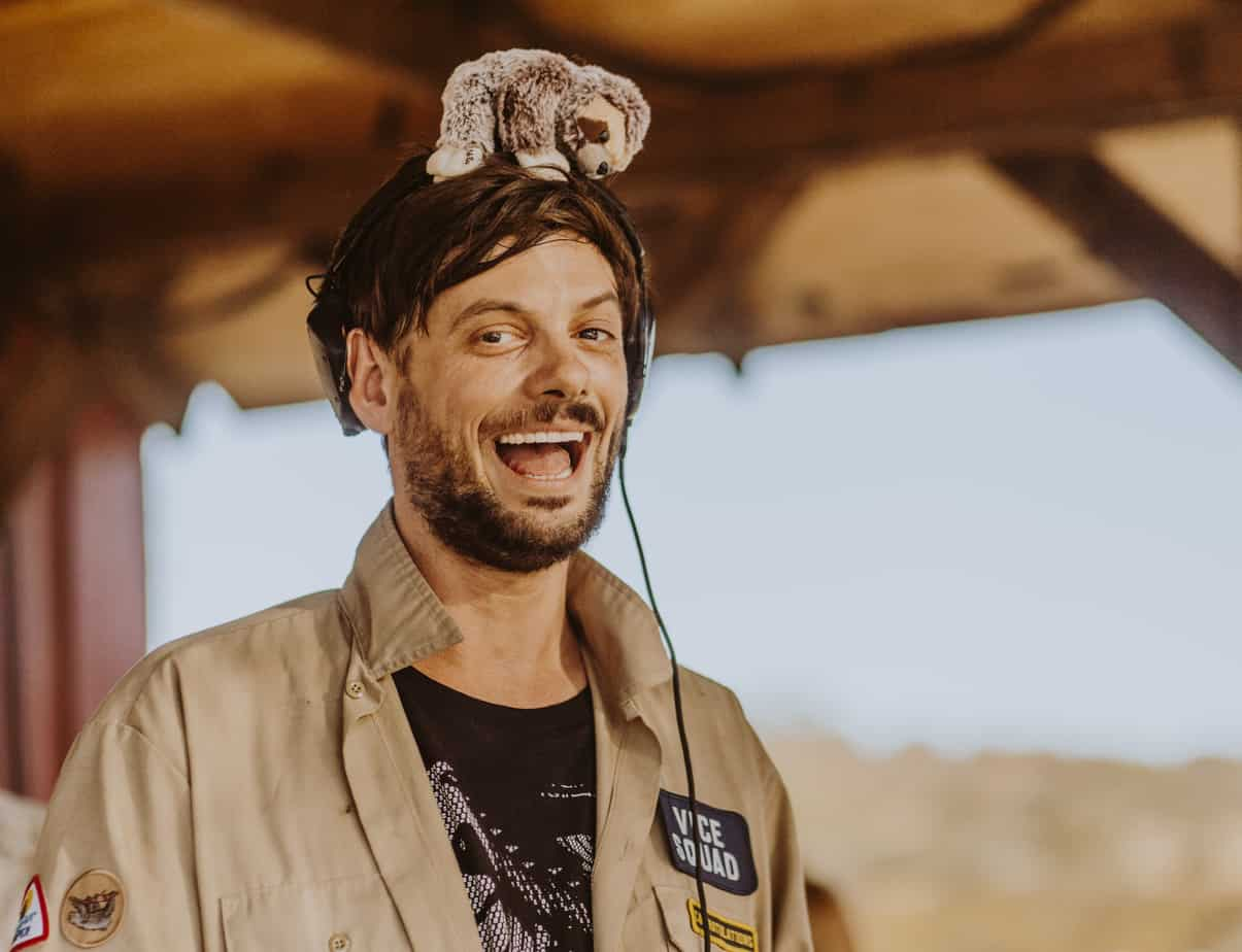 Photo of Sacha Robotti Exclusive Interview at Dirtybird Campout