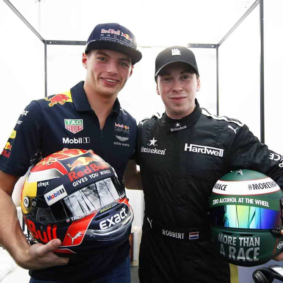Hardwell with Max Verstappen