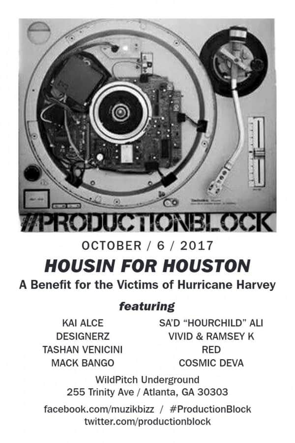 Photo of Housin for Houston Benefit to Houston Hurricane Victims