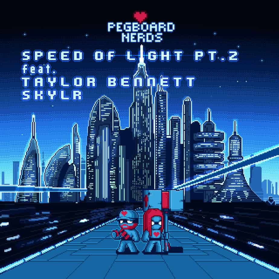 "Photo of PEGBOARD NERDS – ""SPEED OF LIGHT PT.2"" FT. TAYLOR BENNETT & SKYLR [ORIGINAL]"