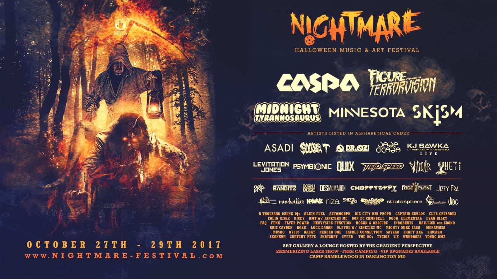 Photo of Nightmare Festival 2017: Up and Coming Artists to Watch For