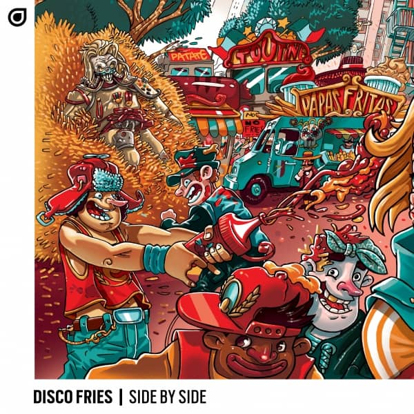 """Disco Fries """"Side By Side"""""""