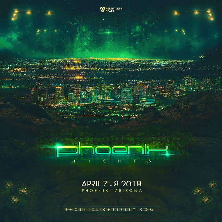 Photo of Arizona's Phoenix Lights Festival Returns In 2018 With A Brand New Home