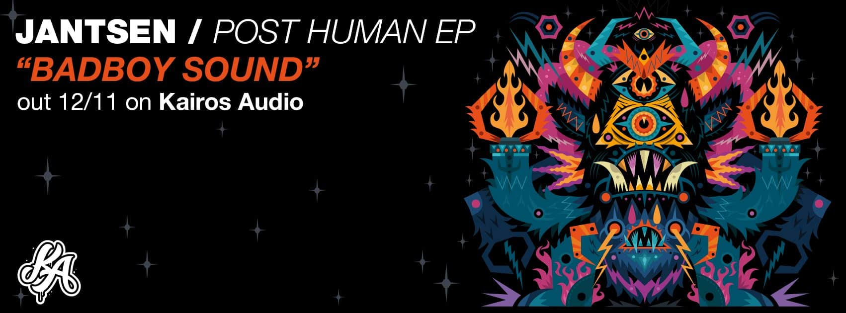 """Photo of Jantsen tops off 'Post Human' EP with fourth single, """"BadBoy Sound"""""""
