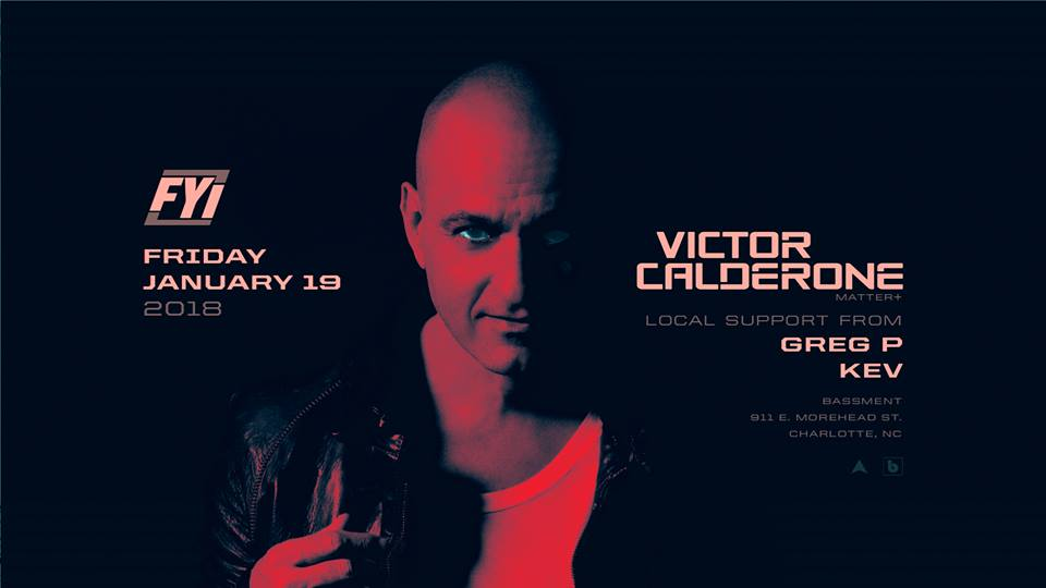 Victor Calderone Techno Bassment