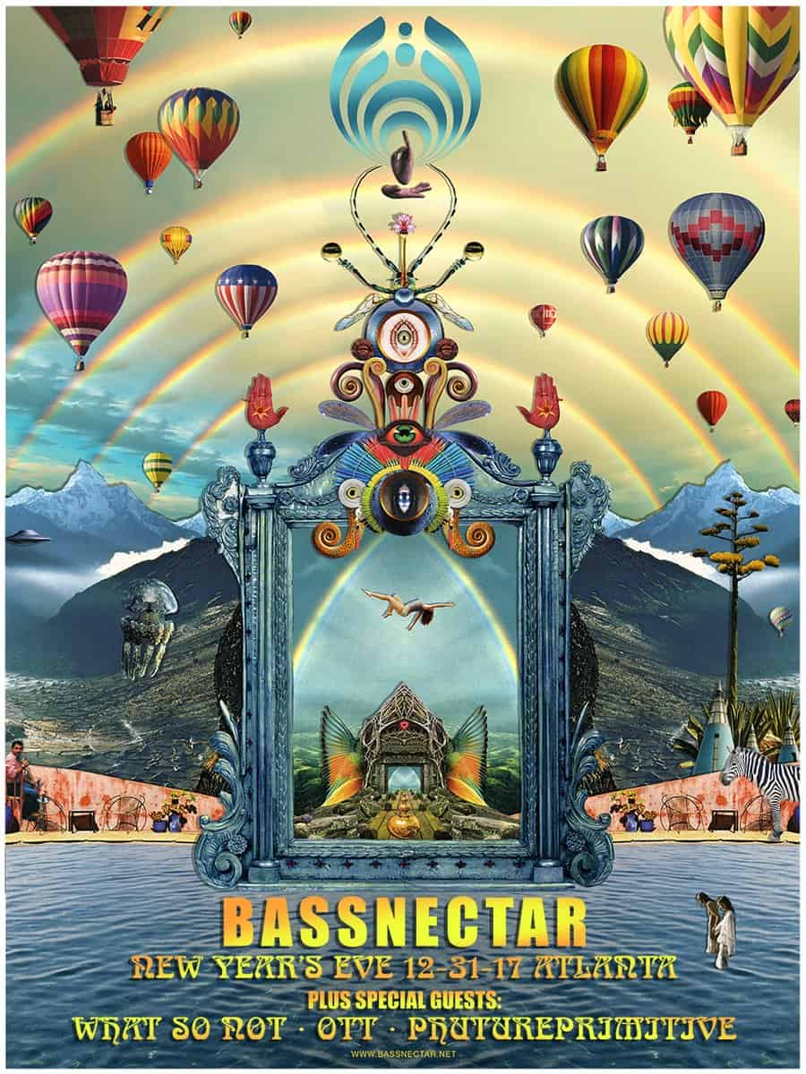 Bassnectar NYE 2017/2018 in Atlanta