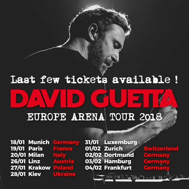 Photo of DAVID GUETTA KICKS OFF HIS EUROPEAN ARENA TOUR