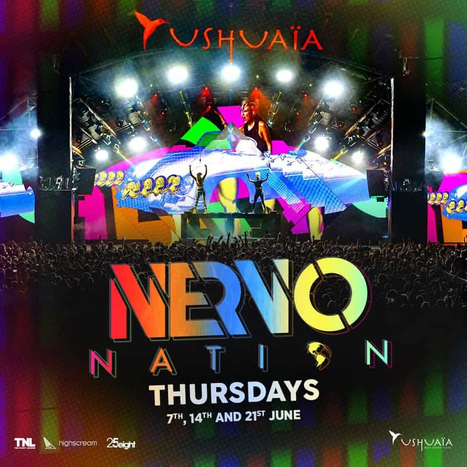 Photo of Nervo takeover continues with dates confirmed at Ushuaïa Ibiza