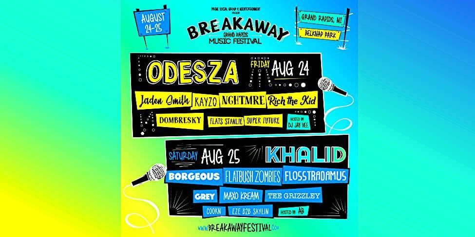 Photo of Breakaway Grand Rapids Releases Daily Lineups
