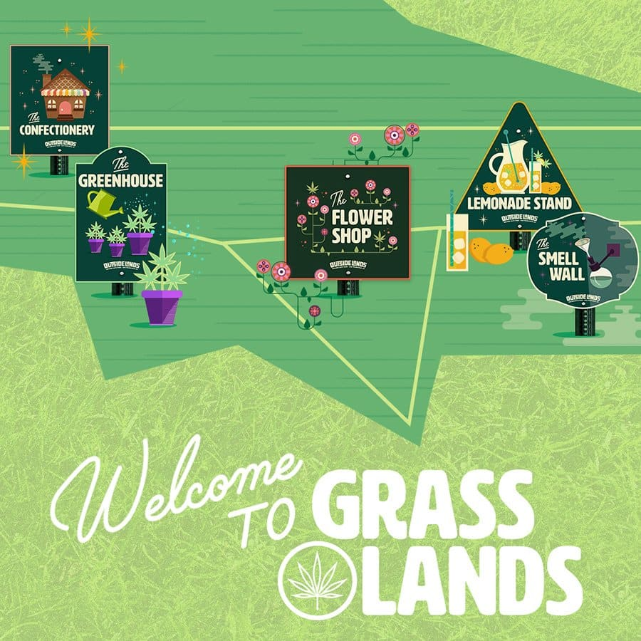 Photo of Outside Lands Embraces Cannabis Culture with 'Grass Lands'
