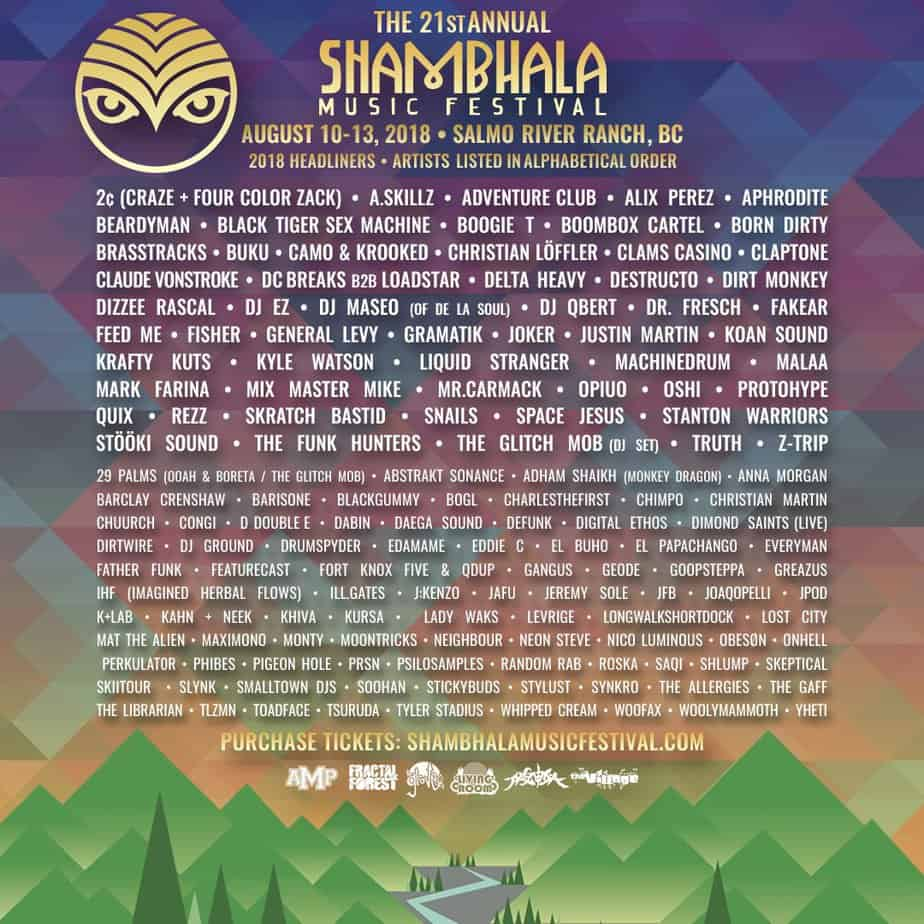 Photo of Shambala Music Festival to Keep Attendees Safe with New Drug-Testing Technology