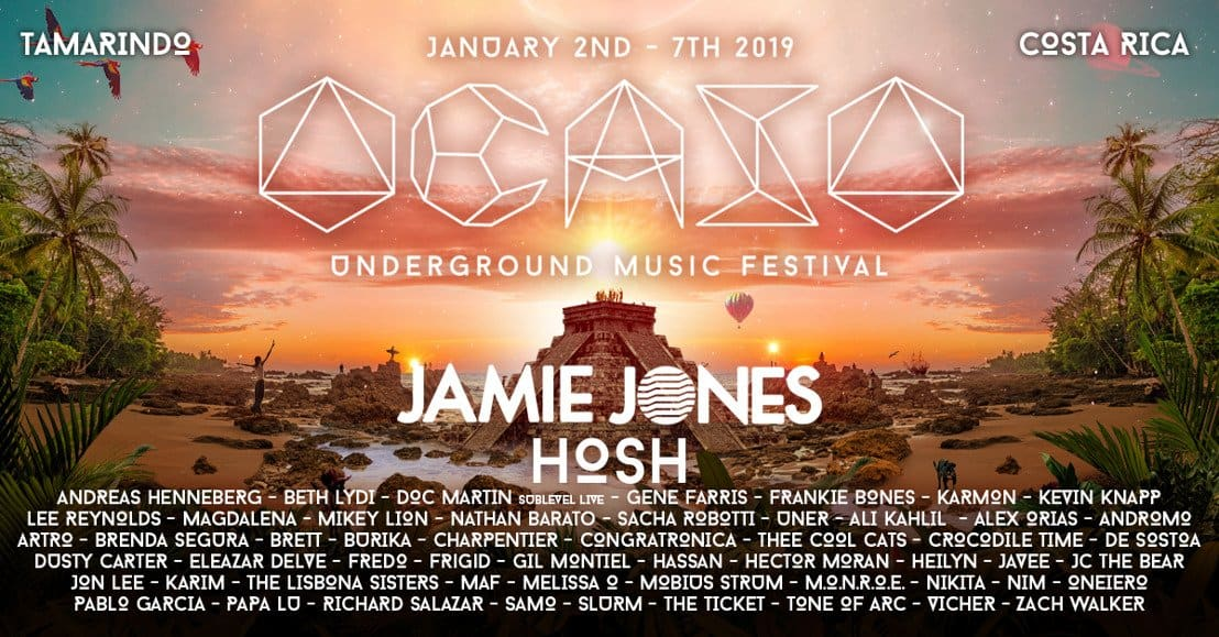 Photo of Costa Rica's Ocaso Underground Music Festival 2019 Full Lineup