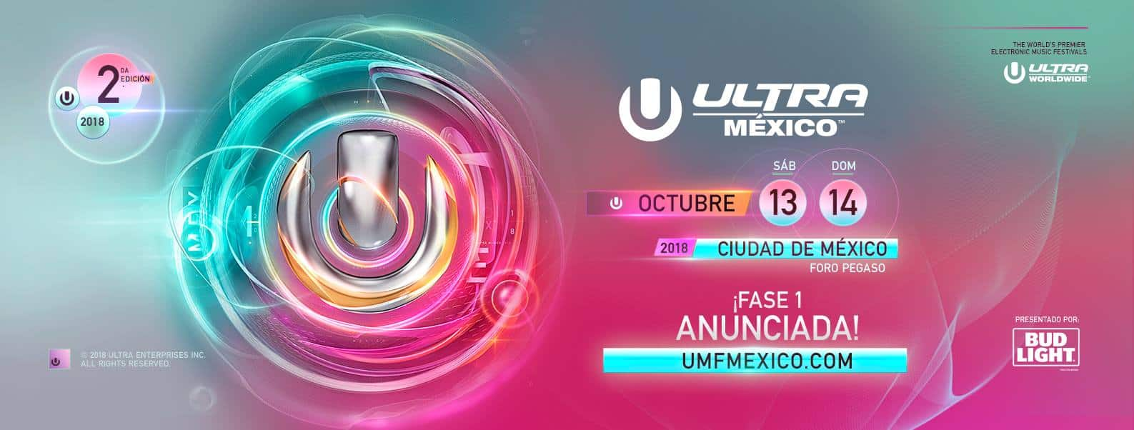 Photo of ULTRA México 2018 Phase One Lineup is Tremendous