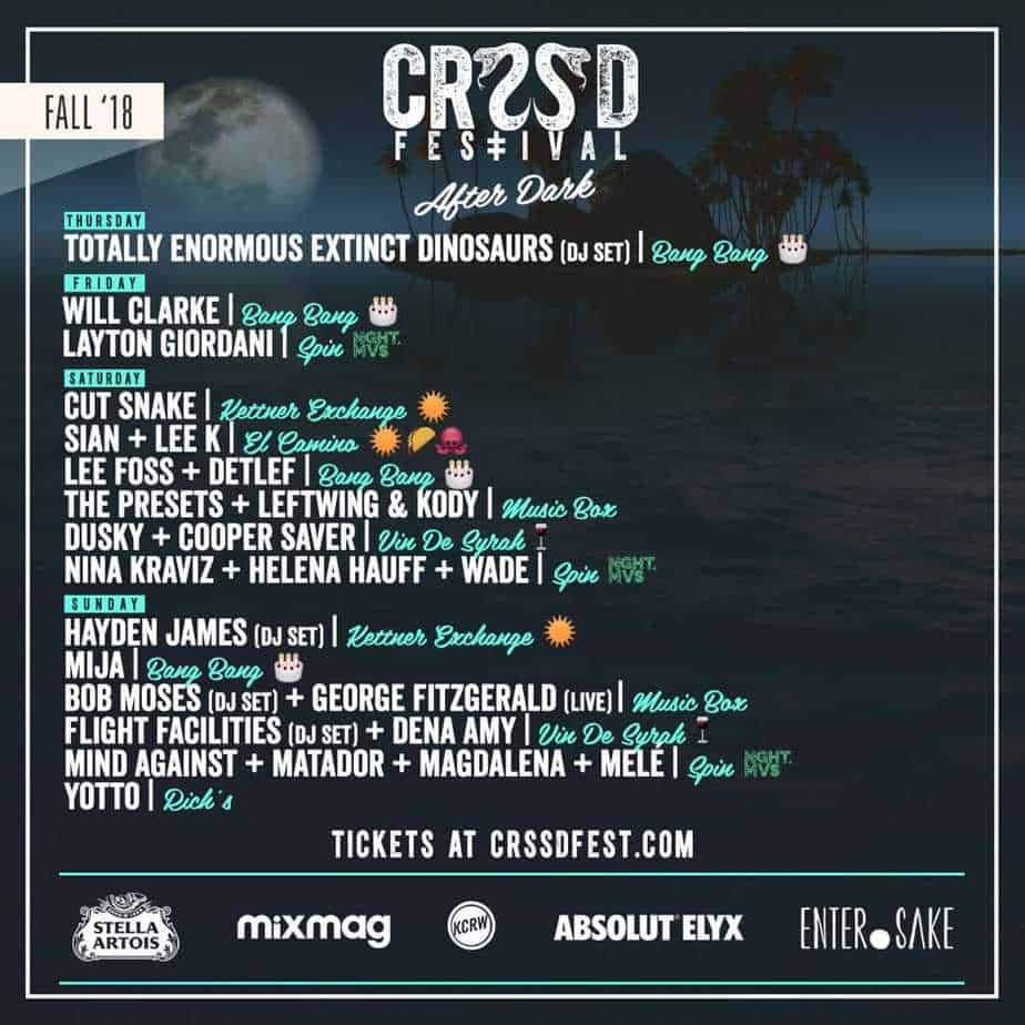 Photo of By Day & After Dark Lineups for CRSSD Announced