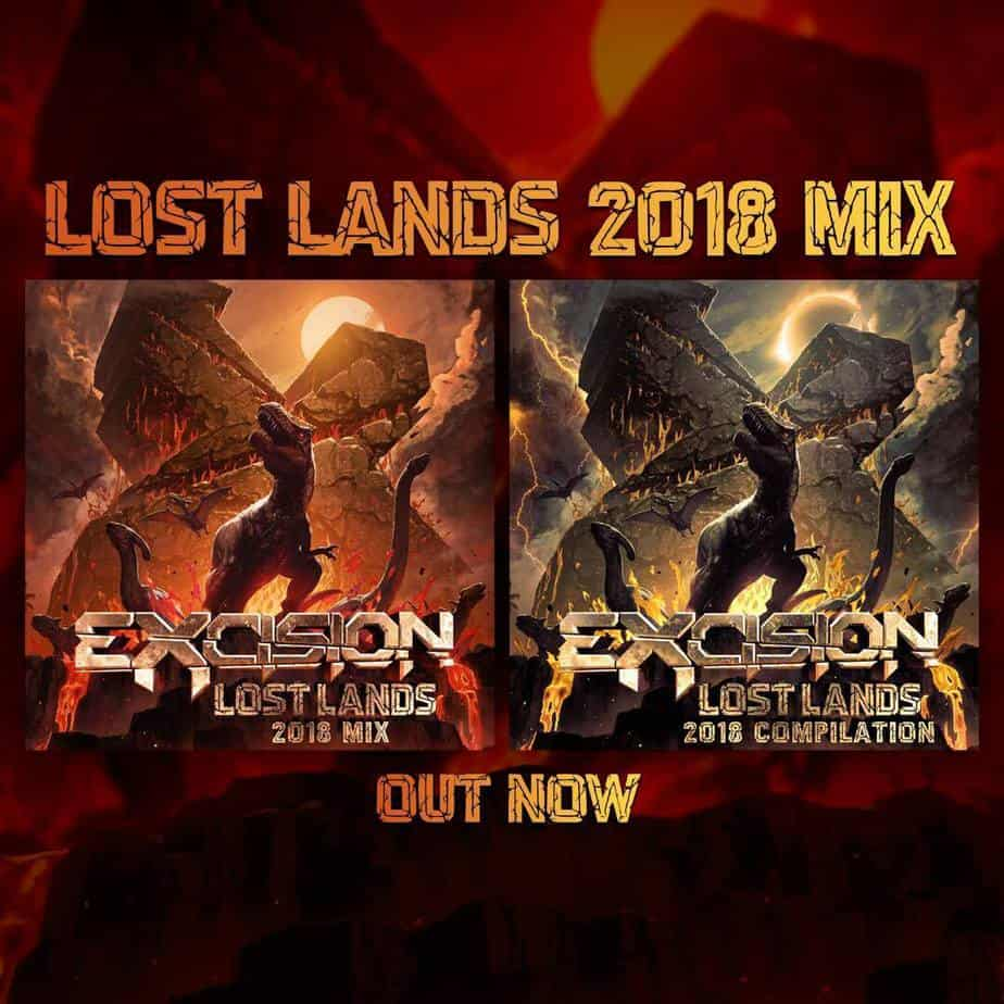 Photo of Excision Releases Lost Lands 2018 Mix and Compilation