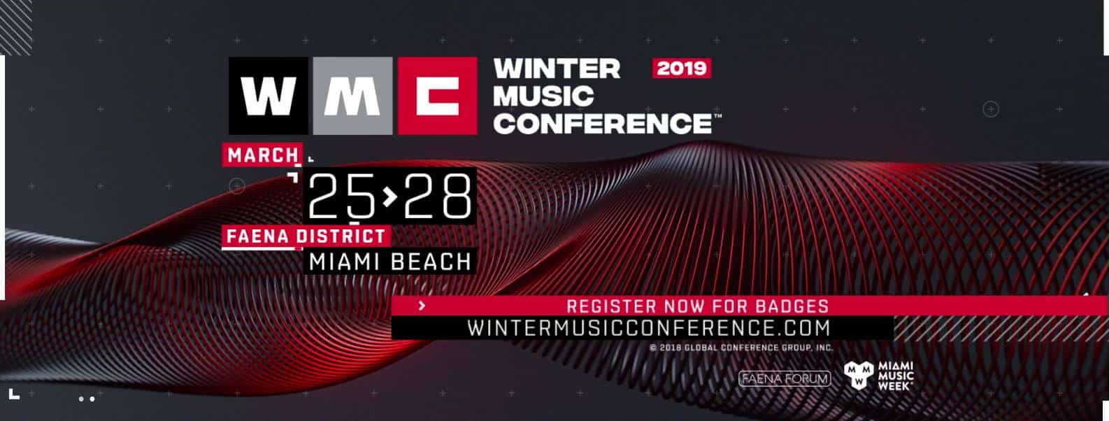 Photo of Winter Music Conference 2019 Open for Registration