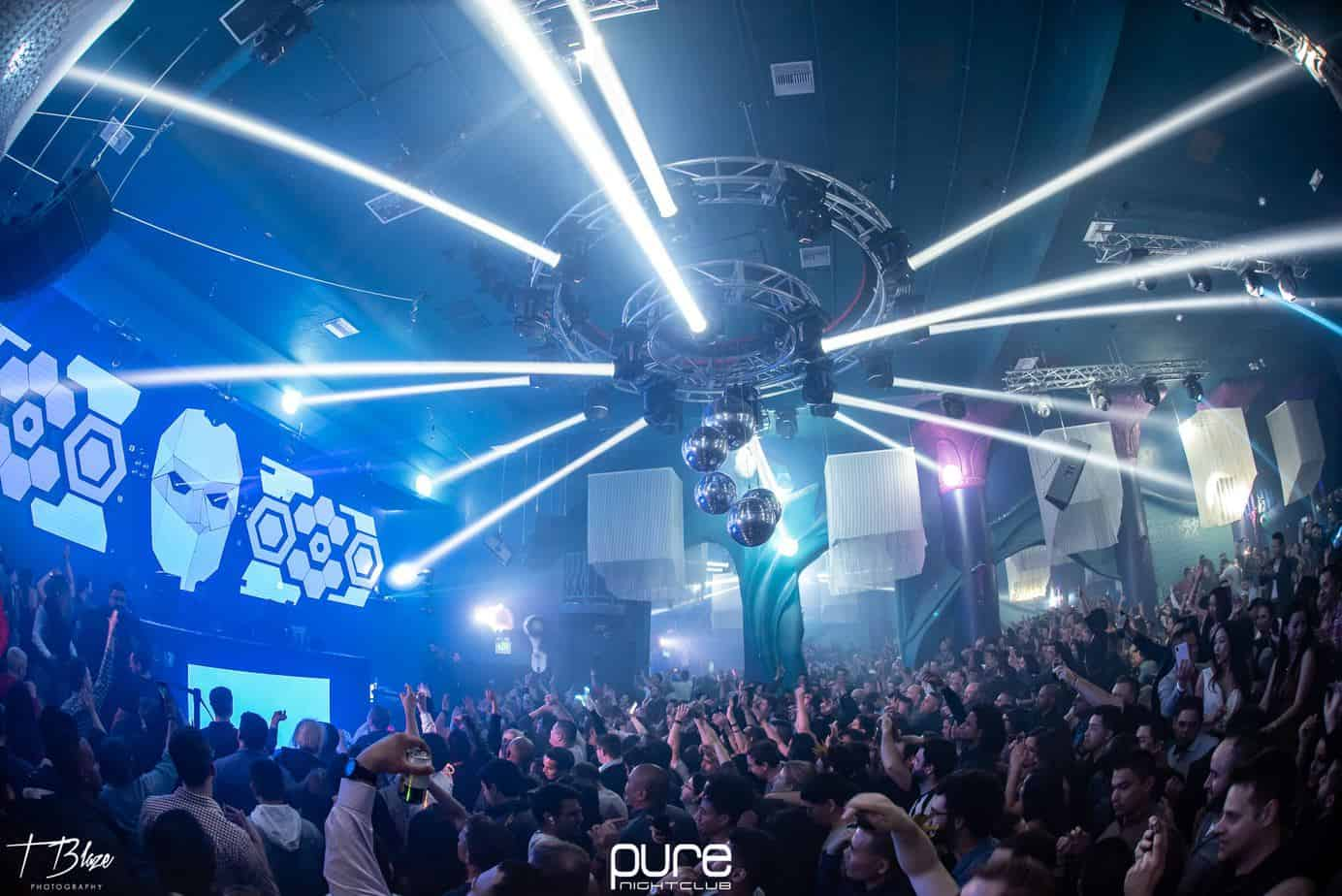 1st photo from Paul van Dyk's show at Pure Nightclub