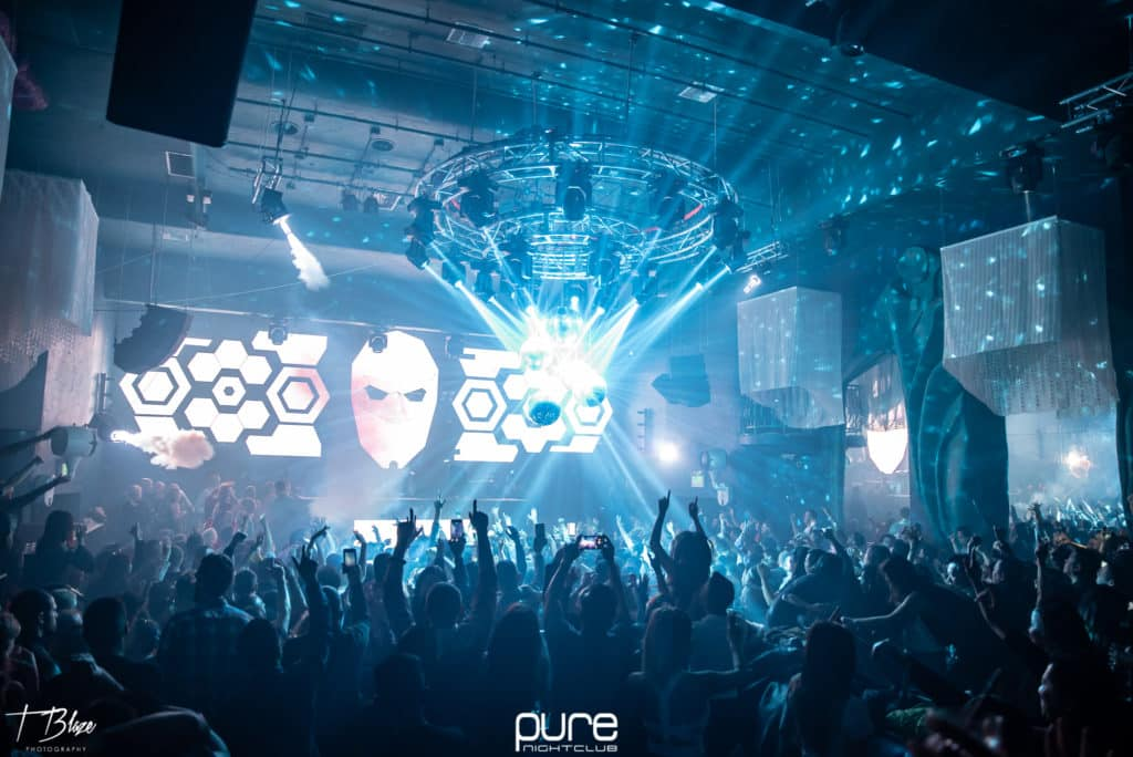 2nd photo from Paul van Dyk's show at Pure Nightclub