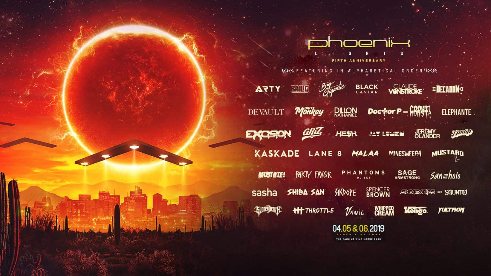 Photo of More artists added to Phoenix Lights lineup and artists by stage revealed