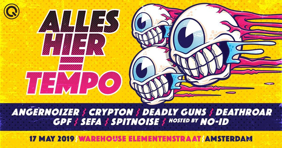 Photo of Q-Dance Presents a New Event this May 2019: Alles Hier is Tempo