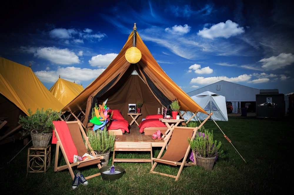 Photo of Glamping: The Glamorous Way of Camping Comes to EDM Festivals