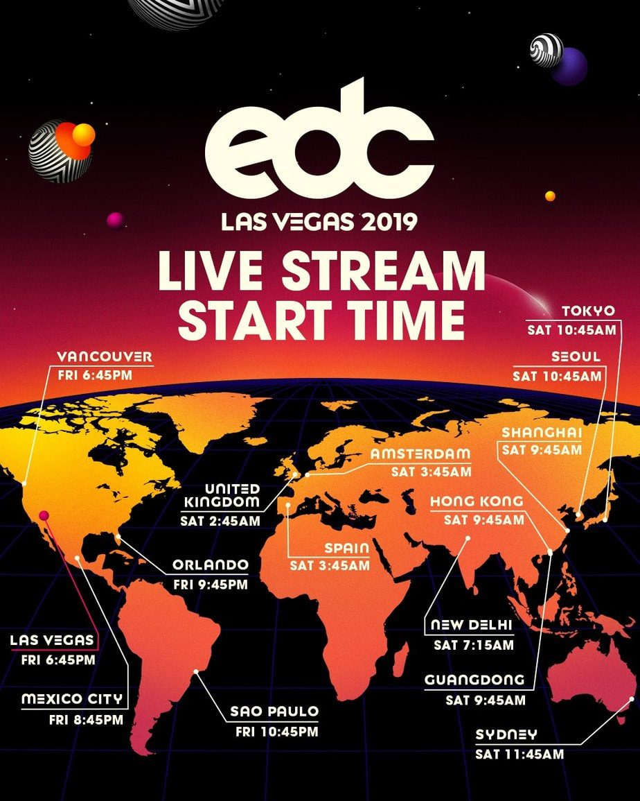 Photo of Watch the EDC Live  Stream via LiveXLive and STIRR