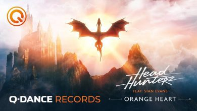 "Photo of Feel the Music with Headhunterz ""Orange Heart"""
