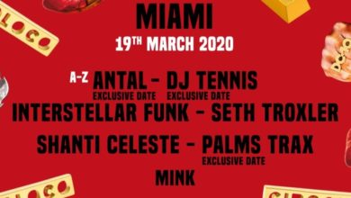 Photo of Circoloco Books Palms Trax, DJ Tennis, Antal for Miami Music Week