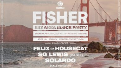 Photo of Event Preview-Catch & Release Presents: Fisher's Bay Area Block Party