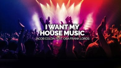 Photo of Jacob Colon's 'I Want My House Music' Is Out Now