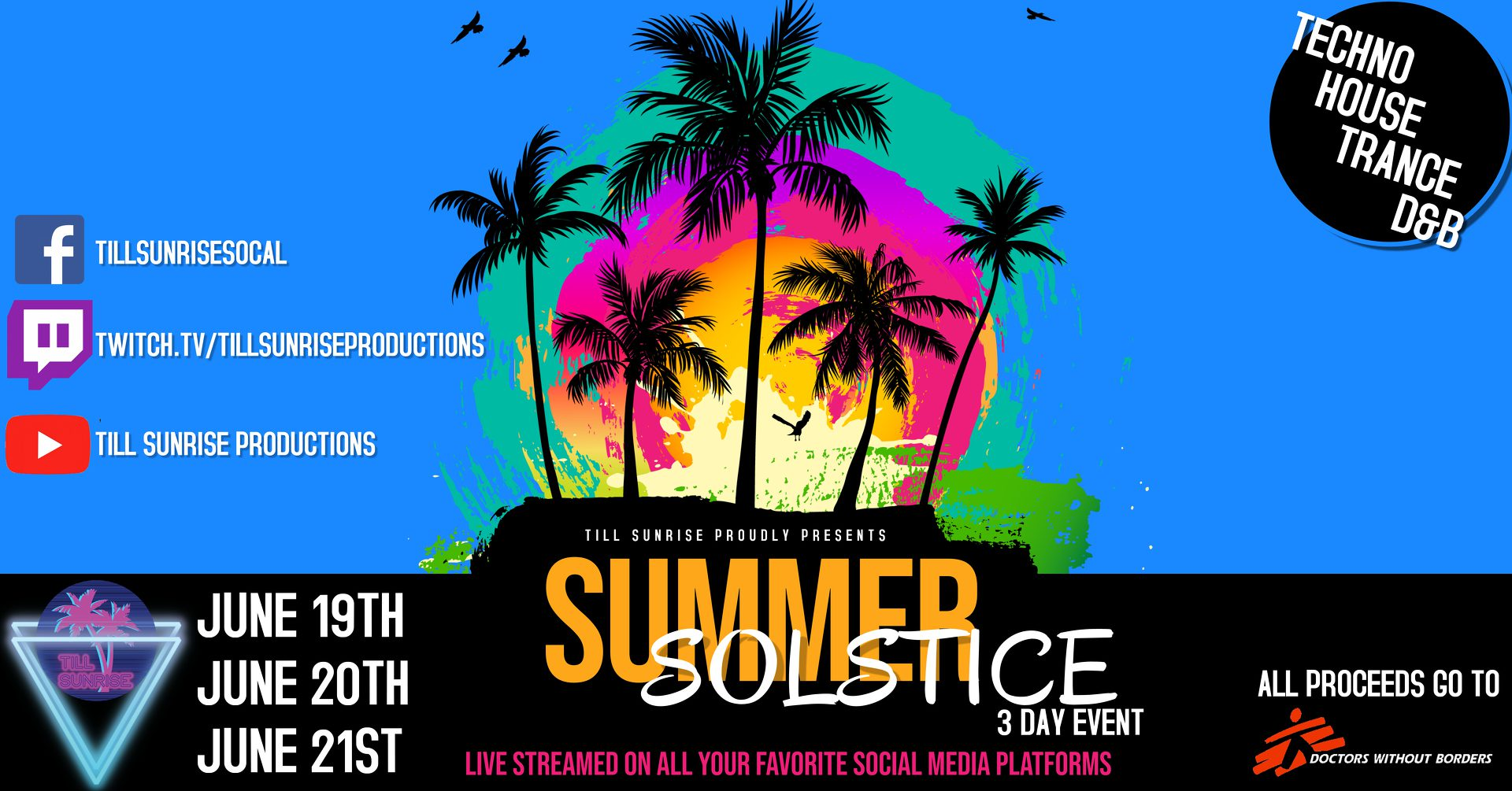 Photo of Till Sunrise Productions Presents Summer Solstice