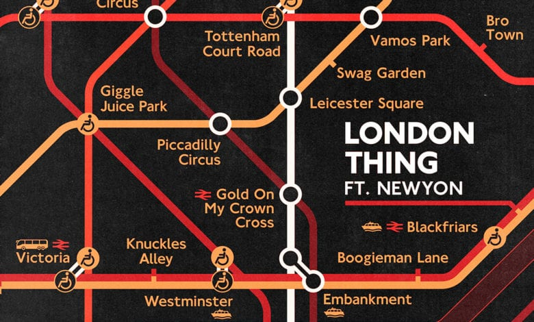 """Photo of BROHUG Releases """"London Thing"""" with NEWYON"""
