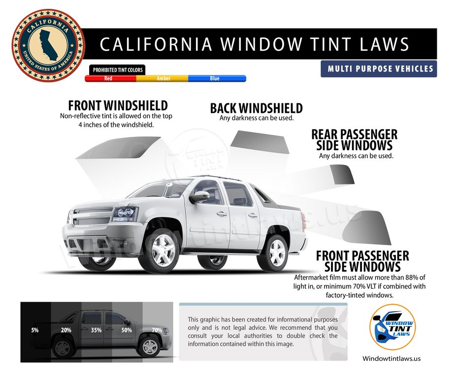 tint laws in california