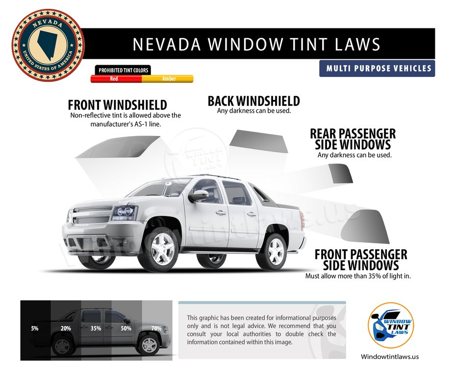 tint laws in nevada