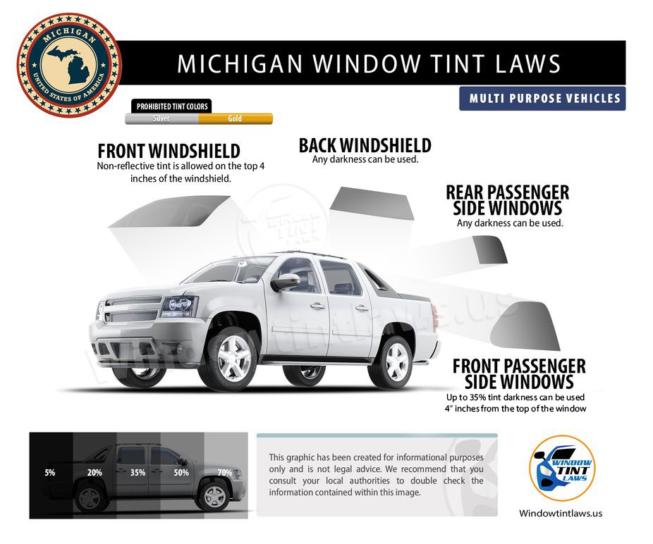 Tint Laws In Michigan Mpv