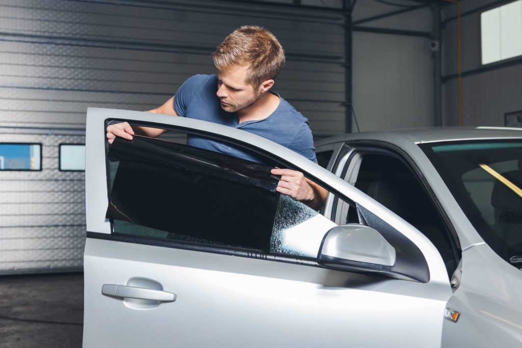 DIY window tinting