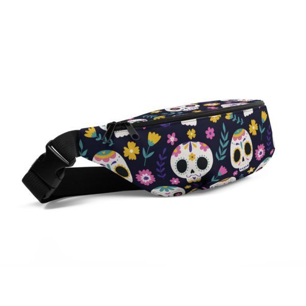 all over print fanny pack white front left 613a73e6bd9b6