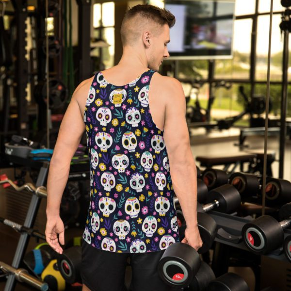 all over print mens tank top white back 613a90aacedda