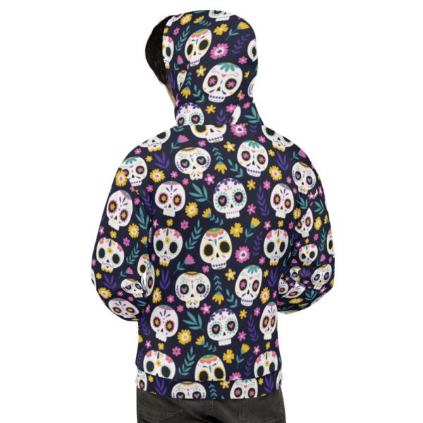 all over print unisex hoodie white back 613a7b3c67732