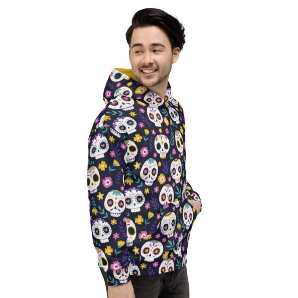 all over print unisex hoodie white right 613a7b3c6792d