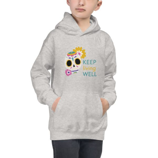 kids hoodie heather grey front 613a8a2eb50d9