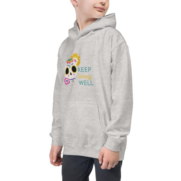 kids hoodie heather grey left front 613a8a2eb54b6