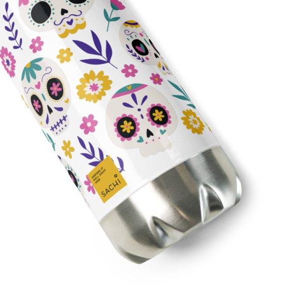 stainless steel water bottle white 17oz product details 613945657a370
